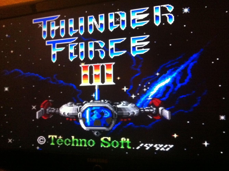 Thunder Force III ? SCART